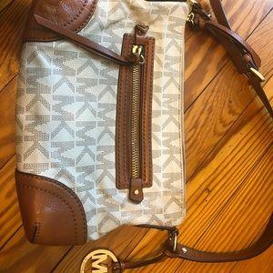 Michael Kors small leather shoulder bag